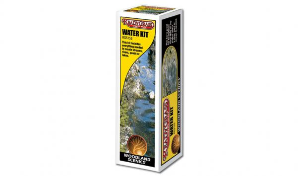 Woodland Scenics: Terain Accessory - Ready Grass Water Kit