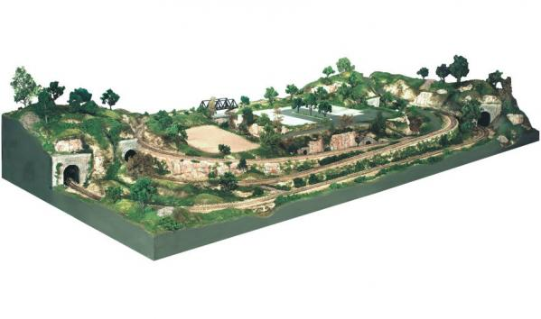Woodland Scenics: River Pass™ Scenery Kit (HO Scale)