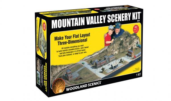 Woodland Scenics: Mountain Valley Scenery Kit®