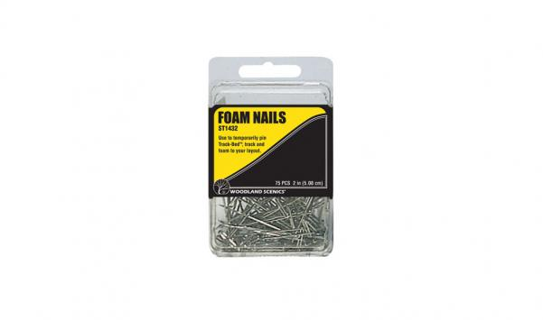 Woodland Scenics: (Hobby Accessory) 2'' Foam Nails