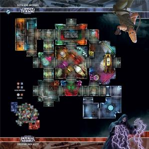 Star Wars Imperial Assault: Skirmish Map - Coruscant Back Alleys