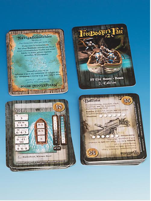 Freebooter's Fate: Card decks #2 - Boats