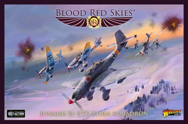 Blood Red Skies: Ju 87D Stuka squadron