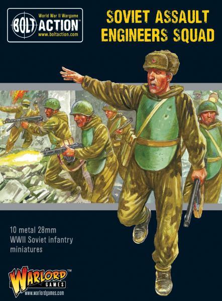 Bolt Action: Soviet Assault Engineers squad