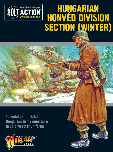 Bolt Action: Hungarian Army Honved Division section (winter)