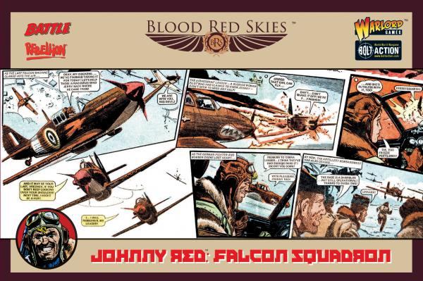 Blood Red Skies: Johnny Red's Falcon Squadron