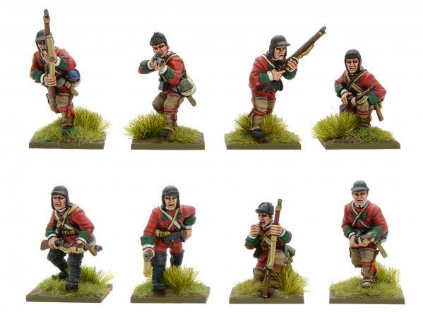 Black Powder: French Indian War - British Light Infantry