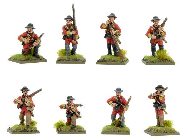 Black Powder: French Indian War - British regulars on campaign