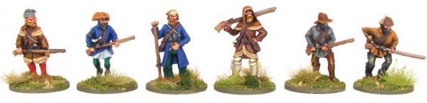 Black Powder: French Indian War - Frontiersmen