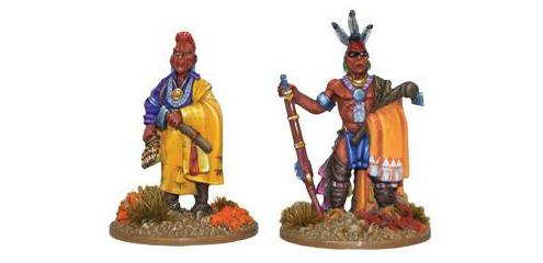 Black Powder: French Indian War - Indian Characters