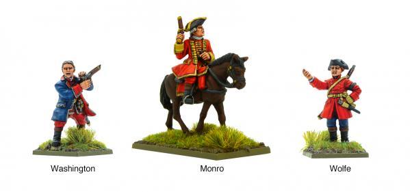 Black Powder: French Indian War - British Characters