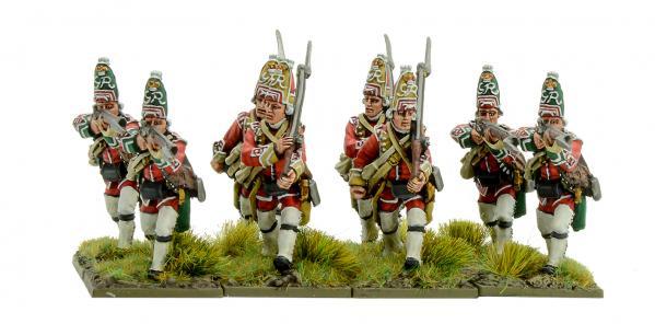 Black Powder: French Indian War - British Grenadiers