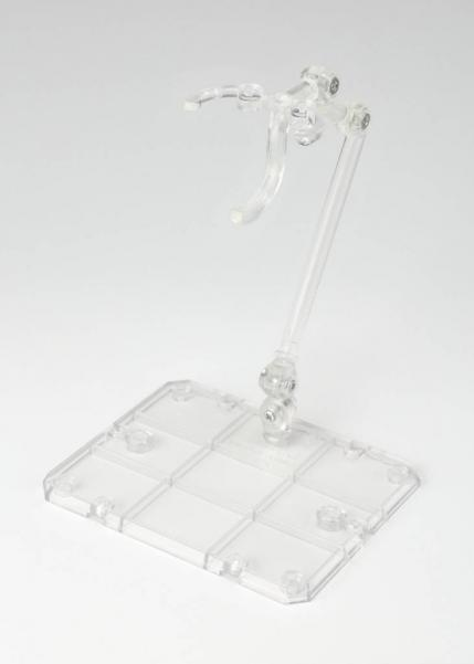 Bandai Hobby: Tamashii Stage Act. 4 for Humanoid, Stand Support (Clear) (2)