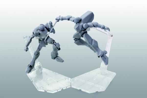 Bandai Hobby: Tamashii Stage Act. 5 for Mechanics, Stand Support (Clear) (2)