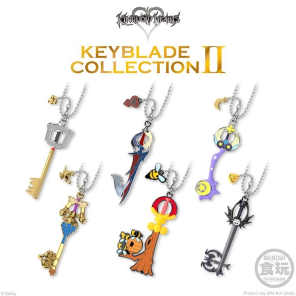 Bandai Hobby: Keyblade Collection 2 ''Kingdom Hearts'' (Box of 6)