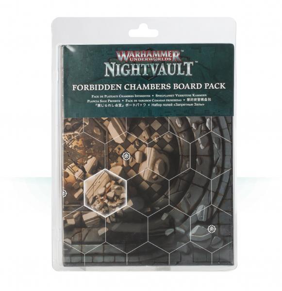 Warhammer Underworlds: Nightvault Forbidden Chambers Board Pack