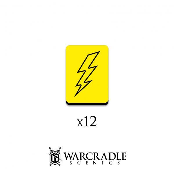 Hero Tokens: Lightning Force Marker (12)
