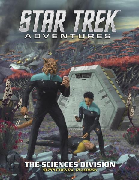 Star Trek Adventures RPG: The Sciences Division Supplement (HC)
