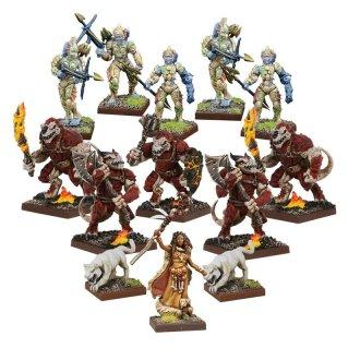 Kings Of War Vanguard: Forces of Nature Warband Set