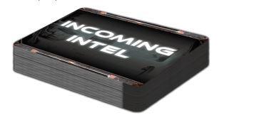 Deadzone: Incoming Intel Card Deck