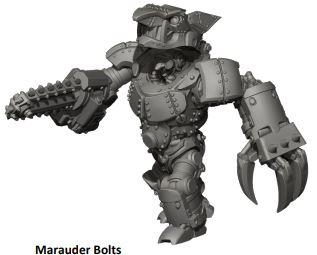 Deadzone, 2nd Edition: (Marauder) Bolts