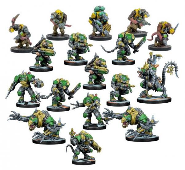 Deadzone, 2nd Edition: (Veer-myn) Volt Chasers Faction Starter