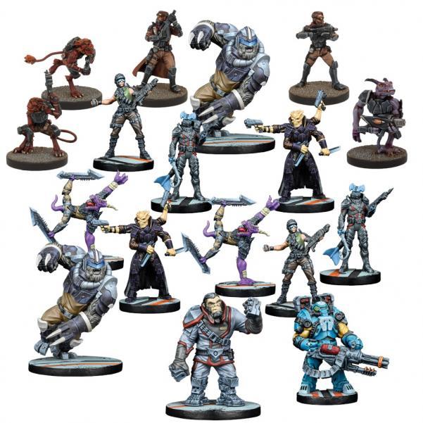 Deadzone - Rebs: Alpha Team Faction Starter