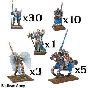Kings of War: Basilean Army (2019)