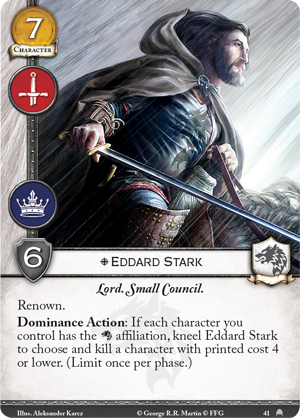 A Game of Thrones LCG: Pit of Snakes