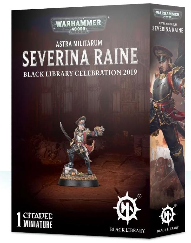 Warhammer 40k: Astra Militarum - Severina Raine