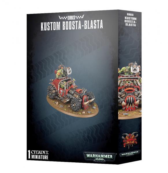 Warhammer 40K: Orks Kustom Boosta-Blasta