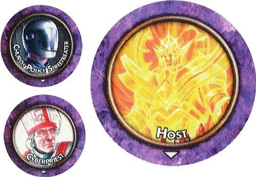 Torg Eternity RPG: Cyberpapacy Threats Tokens