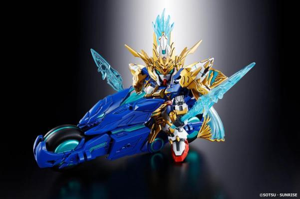 Bandai Hobby (Gunpla): Zhao Yun 00 Gundam & Blue Dragon Drive ''SD Sangoku Soketsuden''