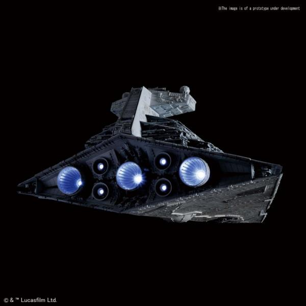 Bandai Hobby (Gunpla): Star Wars 1/5000 scale Star Destroyer (Limited 1st production Lighted ver)