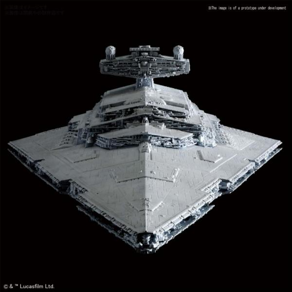 Bandai Hobby (Gunpla): Star Wars 1/5000 scale Star Destroyer