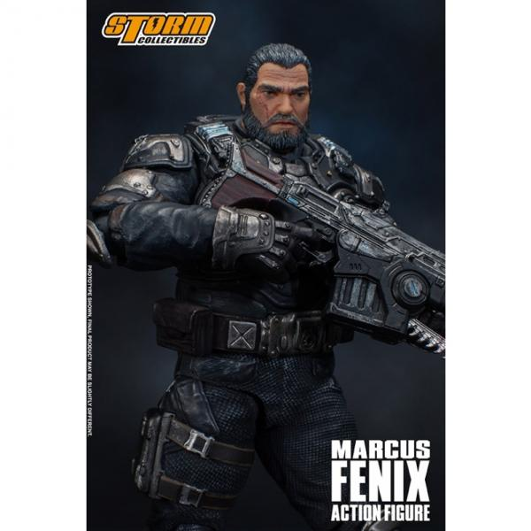Bandai Hobby: Storm Collectibles - Marcus Fenix ''Gears of War''  (1/12 scale)