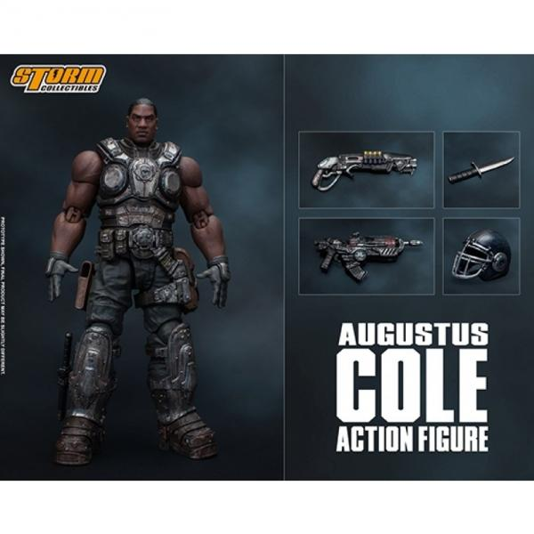 Bandai Hobby: Storm Collectibles - Augustus Cole ''Gears of War''  (1/12 scale)
