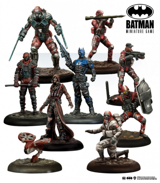 Batman Miniature Game: Bat-Box Militia Invasion Force