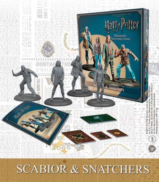 Harry Potter Miniature Game: Scabior & Snatchers