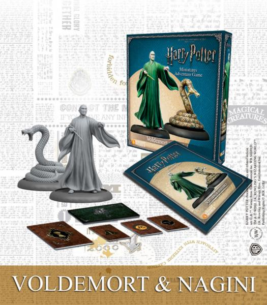 Harry Potter Miniature Game: Lord Voldemort & Nagini