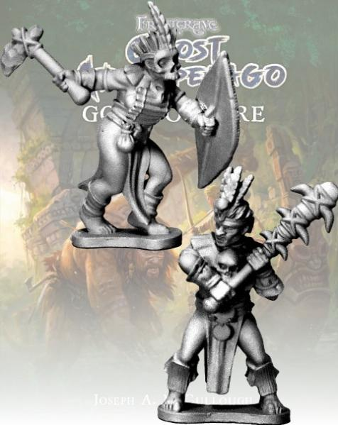 Frostgrave: Ghost Archipelago Tribal Freebooter and Mercenary