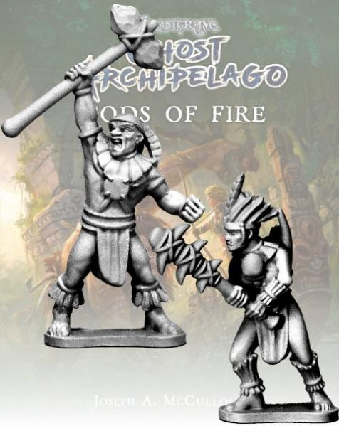 Frostgrave: Ghost Archipelago Tribal Savage and Hunter
