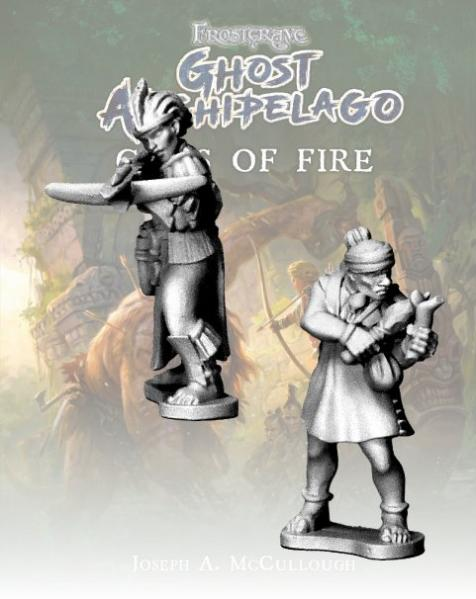Frostgrave: Ghost Archipelago Tribal Crackshot and Herbalist