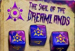Elder Dice Set: Sigil of the Dreamlands d6 Set (Nine d6 in Tube)