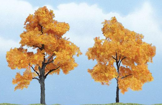Woodland Scenics: Tree Kits - Premium Fall Maple (2/pkg 3'', 2 3/8'')