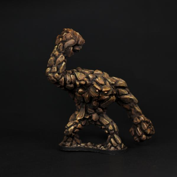 Tomb Guardians 28mm Miniatures: Large Earth Elemental