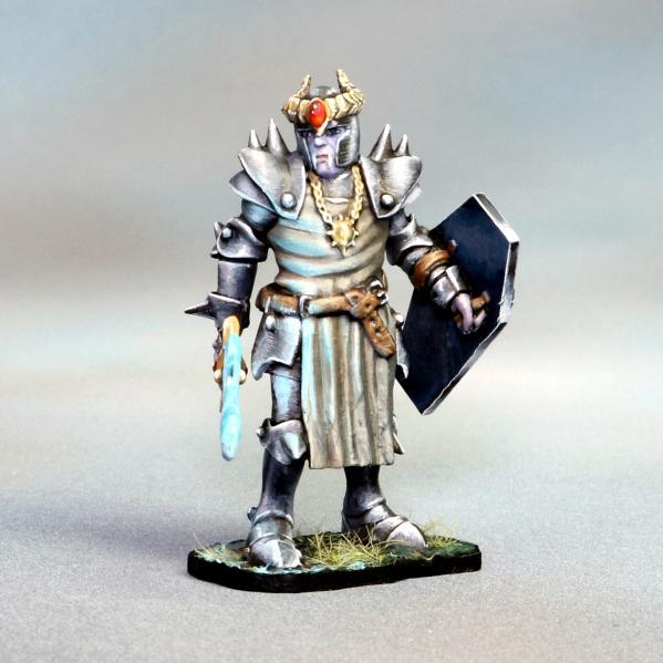 Tomb Guardians 28mm Miniatures: Vampire Anti-Paladin Templar Knight - Lathaire Deathhand