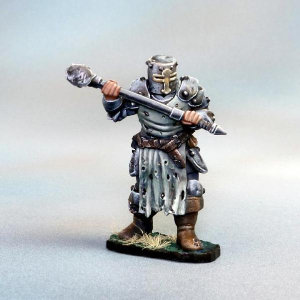 Tomb Guardians 28mm Miniatures: Vampire Templar Male Slave - Ebixium the Tyrant
