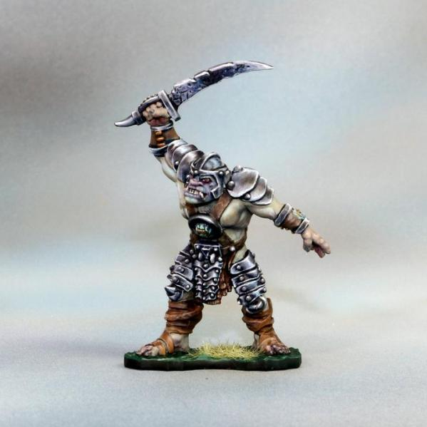 Tomb Guardians 28mm Miniatures: Vampire Orc Male Slave - Digory the Fierce