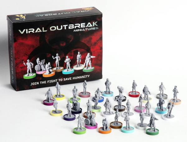 Viral Outbreak Miniatures: EPIC Set (30 Miniatures)